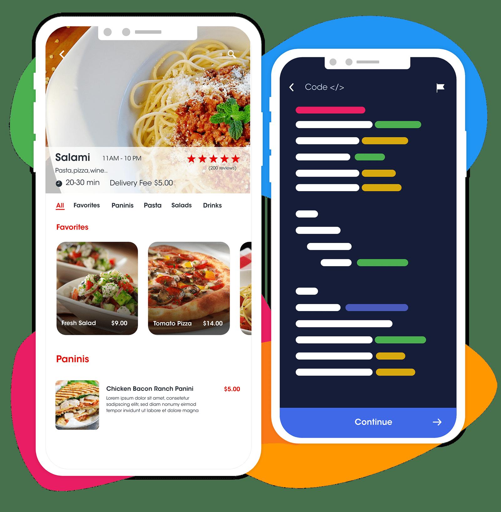 Ordering Native Enterprise App