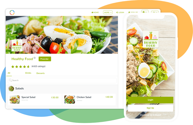 Ordering   Why Ordering    Ordering Website and Ordering Apps   Ordering Online Technology
