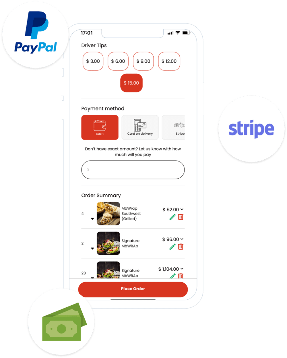 Ordering App Payment-min