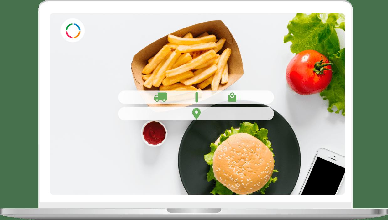 Ordering | Home | Ordering Website Dummy Image | Food